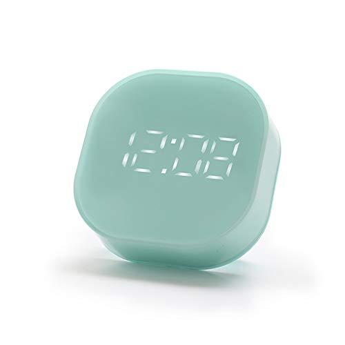 6Wcveuebuc Reloj despertador electrónico luminoso con indicador LED digital con función de cuenta regresiva para cocina, parámetros USB/batería para el hogar