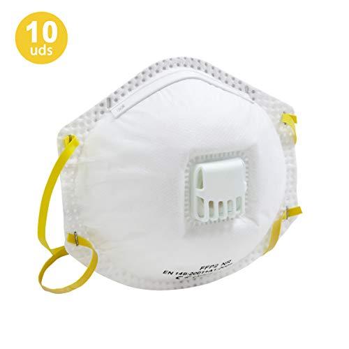 Mascarilla de Protección FFP2 - Pack 10 Unidades