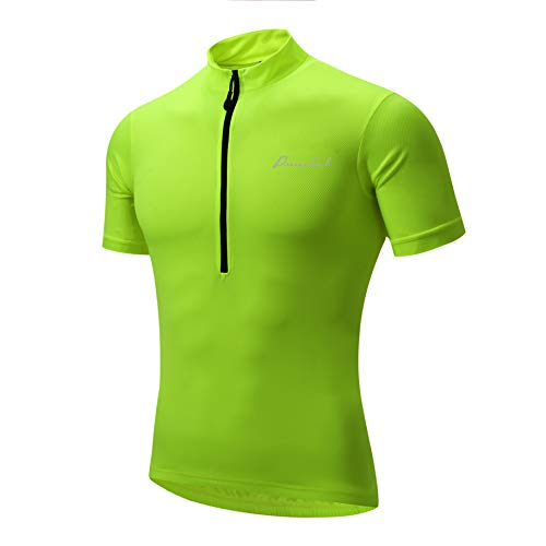 Przewalski Fietsshirt voor heren, korte mouw/lange mouwen, sneldrogend, fietskleding voor racefiets, wielersport