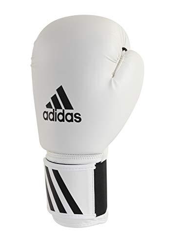 adidas Speed 50 Guantes de Boxeo, Unisex Adulto, Blanco, 39,8 cl