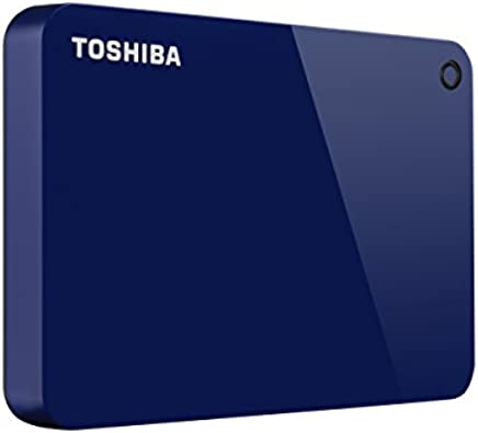 Toshiba Canvio Advance 2TB Portable External Hard Drive USB 3.0, Blue (HDTC920XL3AA)