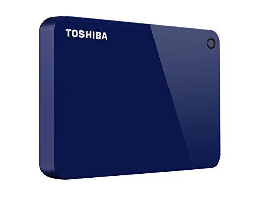 Toshiba (HDTC910XL3AA) Canvio Advance 1TB Portable External Hard Drive USB 3.0, Blue
