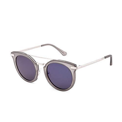 WOYBAOF Gafas de Sol polarizadas al Aire Libre Trend Trend para Mujeres, diseño de Moda clásica de Alta Gama de Lentes UV400, protección UV Estilo de la Calle Pull (Color : C4)