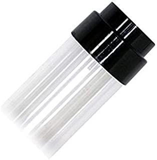24 PACK - T8 CLEAR UV ACRYLIC ULTRAVIOLET FILTERING TUBE GUARD WITH END CAPS BY LIGHT YOUR WORLD