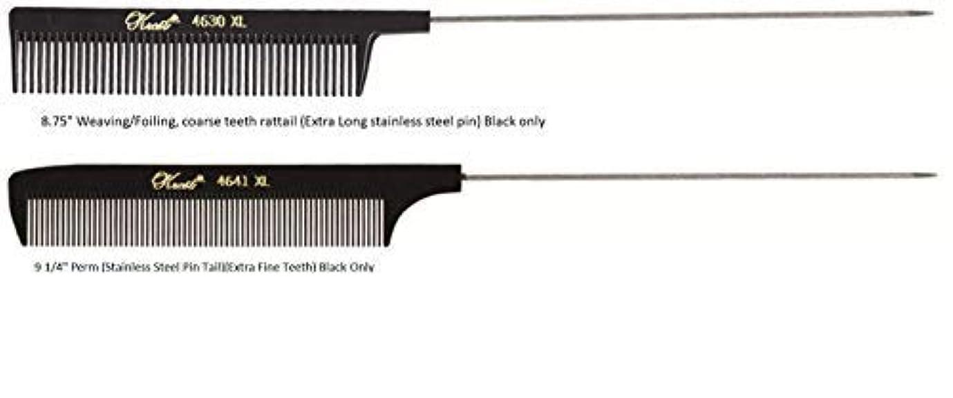 ネコセンブランススナップKrest Pintail Combs 2 Pack, 4641XL-4630XL [並行輸入品]