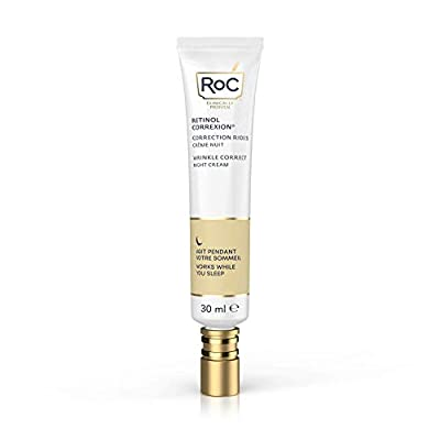 RoC - Retinol Correxion Wrinkle Correct Night Cream - Anti-Wrinkle and Ageing - With Retinol and Exclusive Mineral Complex - 30 ml from RoC