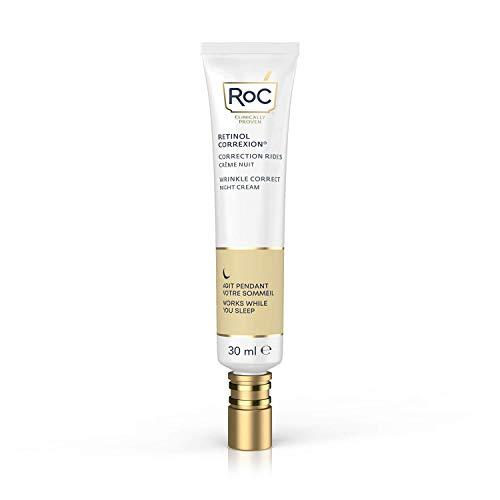 RoC - Retinol Correxion Wrinkle Correct Nachtcreme - Anti-Falten und Aging - Mit Retinol und Exklusiver Mineralkomplex - 30 ml