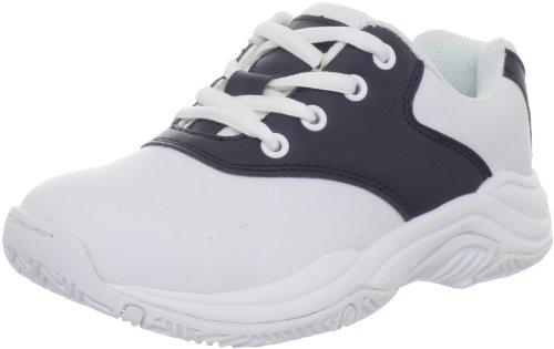 Jumping Jacks Cheers Fashion Sneaker (Toddler/Little Kid/Big Kid),White/Navy,28 EU (10-10.5 M US Toddler)
