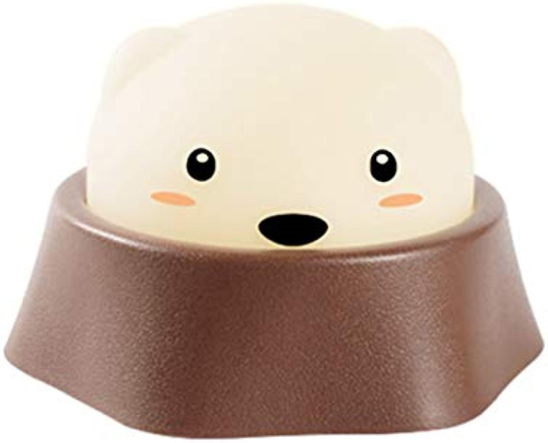 XM Nachtlicht - spielen Hamster Nachtlicht USB Lade Schalter Kinder kreative süe Nachttischlampe Baby Fütterung Licht @@