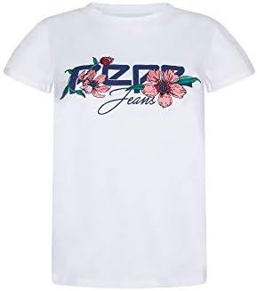 Pepe Jeans Camiseta de Manga Corta Alissa Blanco para Mujer