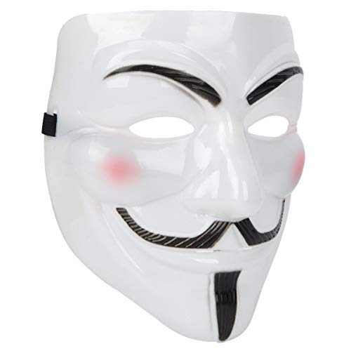 VANVENE Anonymous Guy Mask White