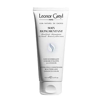 Leonor Greyl Paris Leonor Greyl Paris Soin Repigmentant Color-Enhancing and Nourishing Conditioner Icy Blonde 3.3 fl oz.