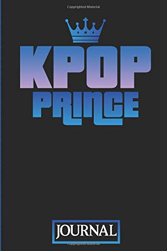 KPOP Prince Journal: Journal Diary for KPOP Fans