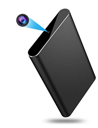 OUMEIOU Power Bank Hidden Camera, 10000mAh HD 1080P Spy Camera Power Bank with Gravity Sensor,Motion Detection,Night Vision,Nanny Cam for Baby/Pet Monitoring/Home Security,Real Mobile Charger(Black)