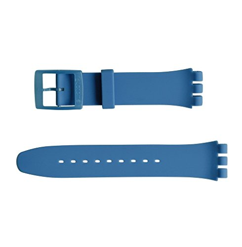 'Swatch 19mm Pulsera 'Blue Grey lacquered (asuon102)