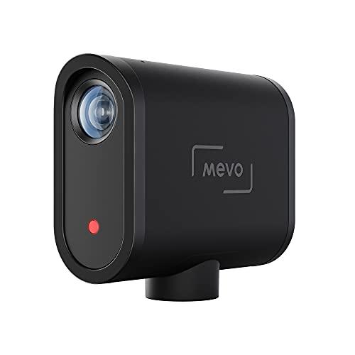 Mevo Start Caméra Live Streaming Sans Fil - 1080p Full HD avec Micro Intégré, App de Contrôle Intelligente, Stream sur YouTube, Facebook, Twitch, Zoom via LTE ou Wi-Fi, en Noir