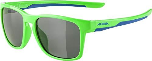 Alpina Unisex Jugend FLEXXY COOL Kids I C Sportbrille, neon Green-Blue, one Size