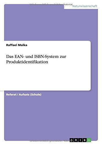 Das EAN- und ISBN-System zur Produktidentifikation