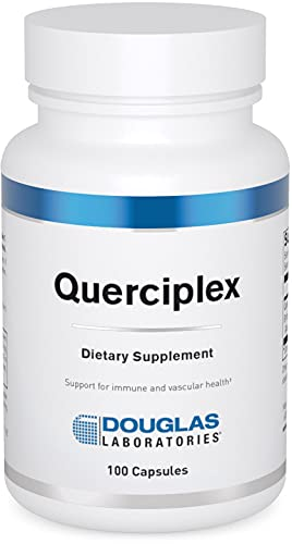 Douglas Laboratories - Querciplex - Combination of Quercetin and Bromelain to Support Immune Cell Function and Vascular Health - 100 Capsules