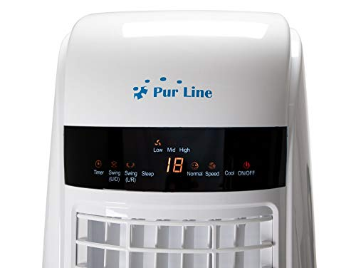 Climatizador evaporativo electrónico para grandes superficies con programador y mando a distancia PURLINE RAFY 170