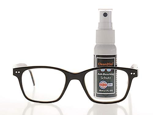 Clean2Go Anti-Beschlag-Spray für Brillen 30ml | Anti Beschlagspray Brillen & Auto