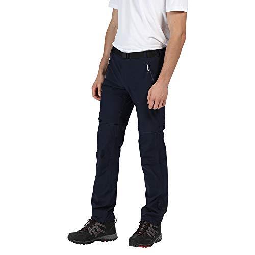 Preisvergleich Produktbild Regatta Xert III Stretch Zip-Off Hose Herren Navy Größe EU 98 (Long) 2020 Lange Hose