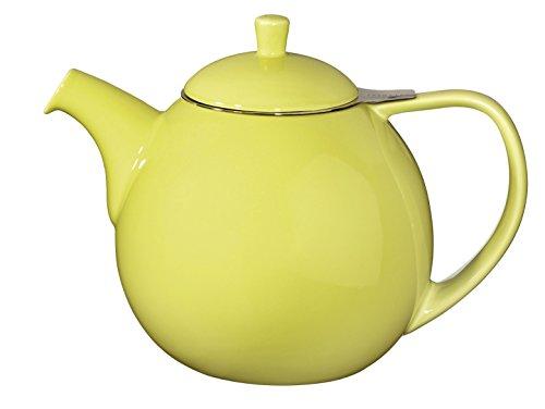 ForLife Teekanne Curve 1,3 l, lime, mit Edelstahlsieb