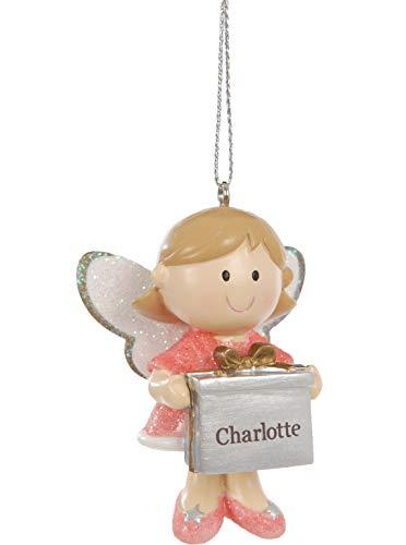 Suki Gifts 28704 Pendentif en forme d'ange gardien Rose