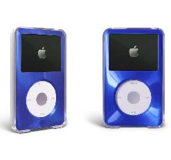 for Apple iPod Classic Hard Case Cover Protector 6th Gen 80GB 120GB, 7th Gen 160GB - Blue
