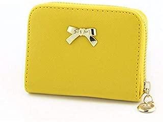 Women Wallets Bowknot Zipper Coin Purse Wearable Short Wallet Handbag Female Wallet Women Clutch Purses Carteira Feminina