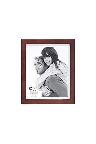Malden International Designs Picture Frame, 8x10, Dark Walnut