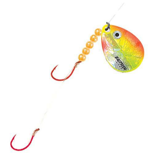 Northland Tackle RCH4-3-YO Baitfish-Image Spinner Harness #4#2 3/Cd Baitfish-Image Spinner Harness #4, Sunrise