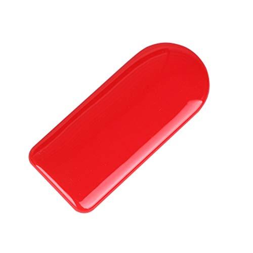 Rote Farbe ABS Aufkleber Abdeckkappe für Mini Cooper ONE S JCW F-Serie F54 Clubman 2016+ (Aufbewahrungsbox Griff)