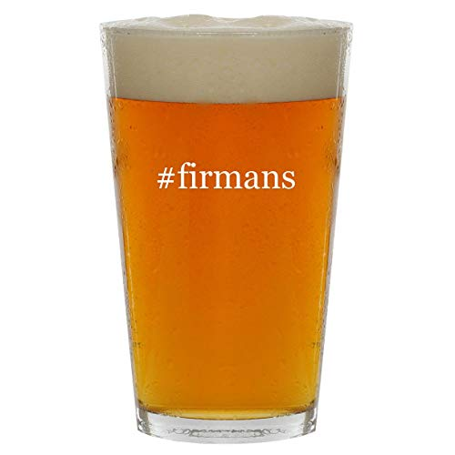 #firmans - 16oz Hashtag Clear Glass Beer Pint Glass