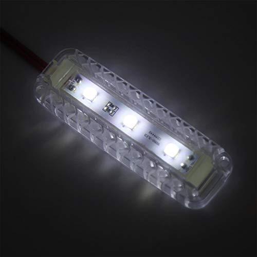 Luz de maletero, luz de lectura resistente a altas temperaturas, fácil de instalar, impermeable universal de alta calidad para vehículos