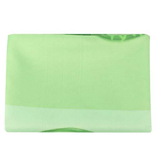 HERCHR Manteles Rectángulo, Verde Mantel para Comedor Cocina Decoración Fiesta 140 x 180 cm