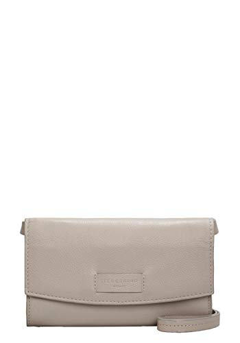 Liebeskind Berlin Damen Essential Clutch Small, Grau (String Grey), 4x12x21 cm