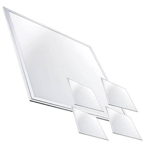 Pack 5x Panel LED 60x60cm 48w. Color Blanco Calido (3000K). 5000 Lumenes. Driver incluido.