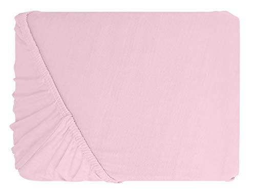#11 npluseins Kinder-Spannbettlaken, Spannbetttuch, Bettlaken, 70×140 cm, Roze - 2
