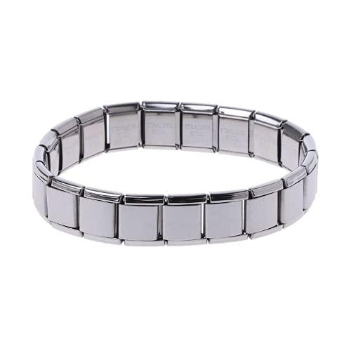 XIGAWAY Joyería elástica de la moda de las pulseras del eslabón de la cadena del estiramiento del acero
