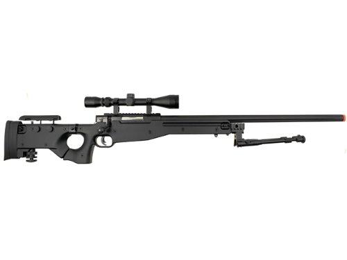 well l96 spring sniper airsoft rifle w  bi-pod and scope(Airsoft Gun)
