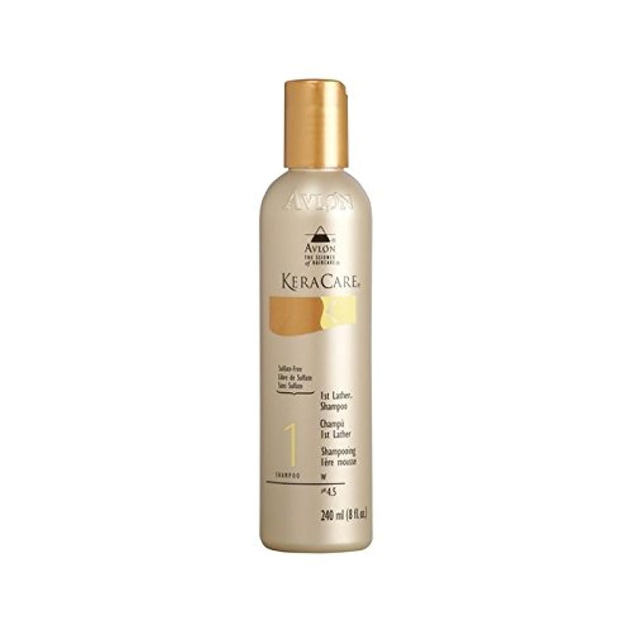 歌手馬鹿唇第一泡立ちのシャンプー(240ミリリットル) x2 - Keracare 1St Lather Shampoo (240ml) (Pack of 2) [並行輸入品]