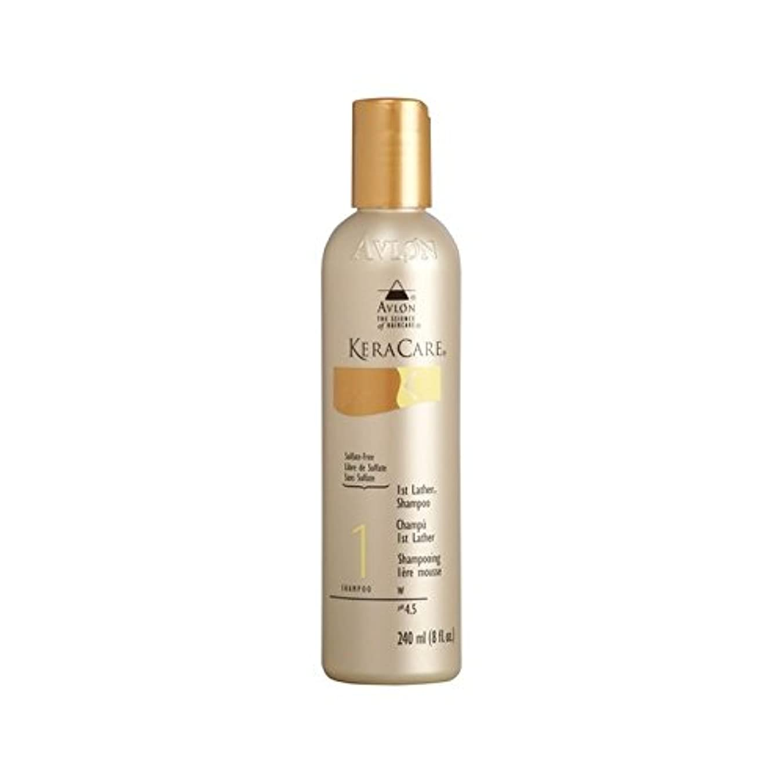 透ける信頼性落花生Keracare 1St Lather Shampoo (240ml) (Pack of 6) - 第一泡立ちのシャンプー(240ミリリットル) x6 [並行輸入品]
