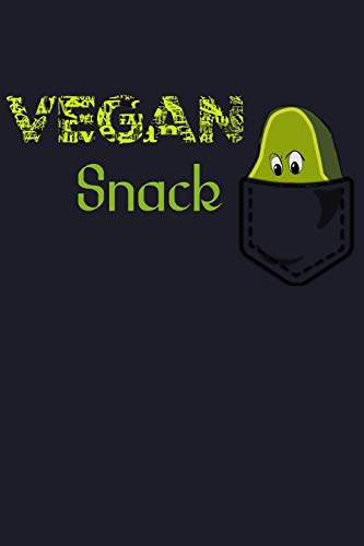 Vegan Snack: Blank Cookbook Journal to Write in Recipes and...