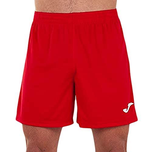 Joma Treviso Pantalones Cortos Equipamiento, Hombre, Rojo, L