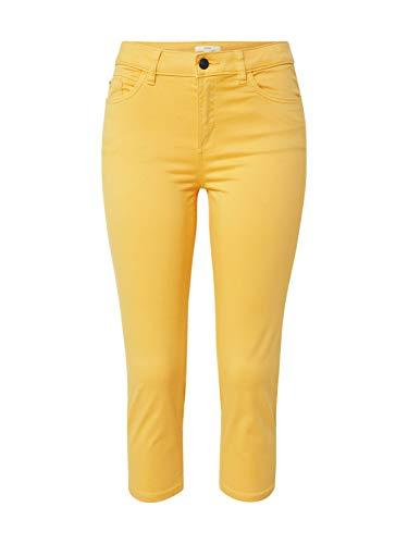 ESPRIT Damen 030EE1B312 Hose, Gelb (750/Yellow), 42/22