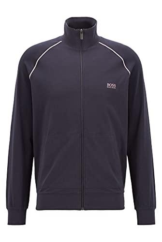 BOSS Mix&Match Jacket Z Chaqueta con Cremallera, Navy413, L para Hombre