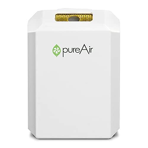 Greentech Environmental PureAir SOLO - Purificatore d'aria portatile e purificatore d'aria, purificatore d'aria per casa, ufficio e auto, zona di pulizia personale 0,9 m, purificazione tutto il giorno