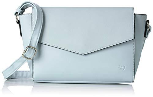 TOM TAILOR Denim Umhängetasche Damen, Kendra, Blau (Hellblau), 28x16x4.5 cm, TOM TAILOR Taschen für Damen