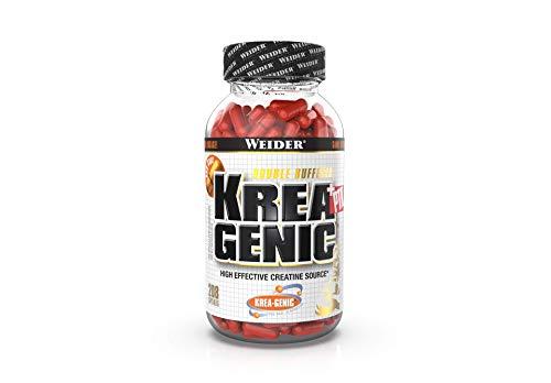 WEIDER Krea-Genic + PTK Kreatin 208 Kapseln für Fitness, Bodybuilding & Krafttraining